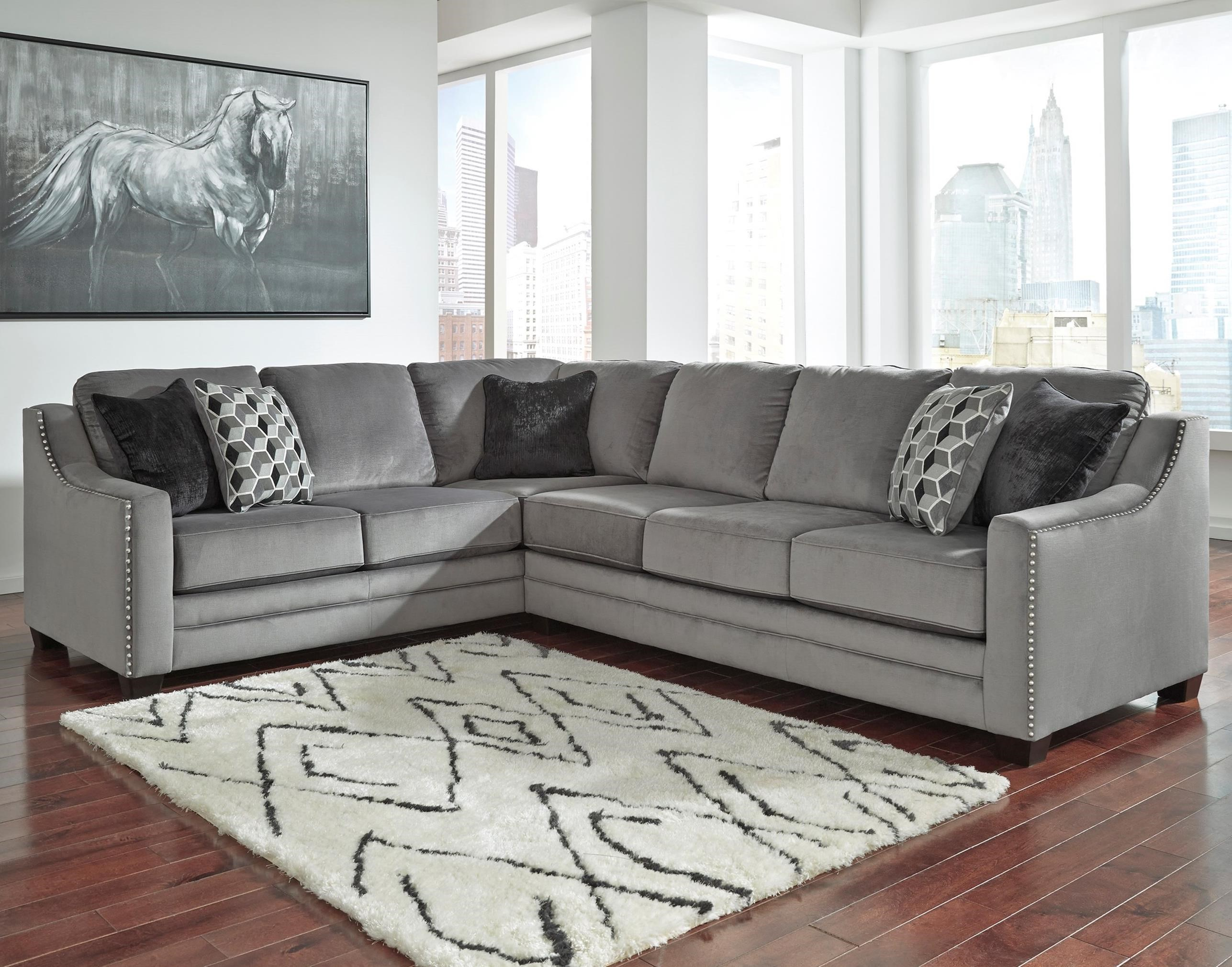 Phenomenal Contemporary 2 Piece Sectional With Right Sofa By Uwap Interior Chair Design Uwaporg