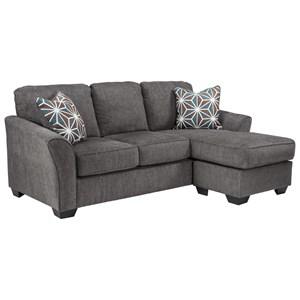Casual Contemporary Queen Sofa Chaise Sleeper