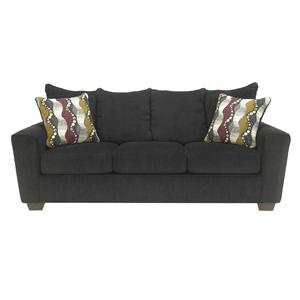 Benchcraft Brogain - Ebony Queen Sofa Sleeper