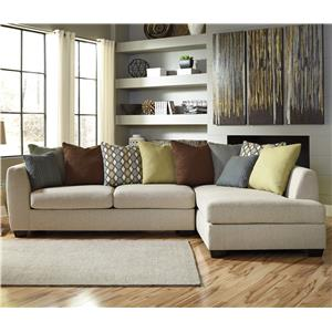 Benchcraft Casheral 2-Piece Sectional with Right Chaise