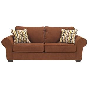 Benchcraft Deandre - Terra Cotta Sofa