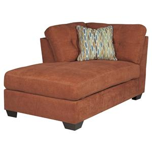 Ashley/Benchcraft Delta City - Rust LAF Corner Chaise
