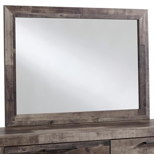 Rustic Modern Bedroom Mirror