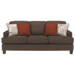 Benchcraft Deshan - Chocolate Sofa