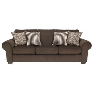 Benchcraft Doralynn - Java Queen Sofa Sleeper