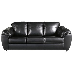 Casual Sofa with Pillow Top Arms