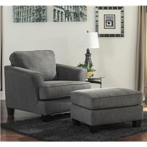 Ashley/Benchcraft Gayler Chair & Ottoman