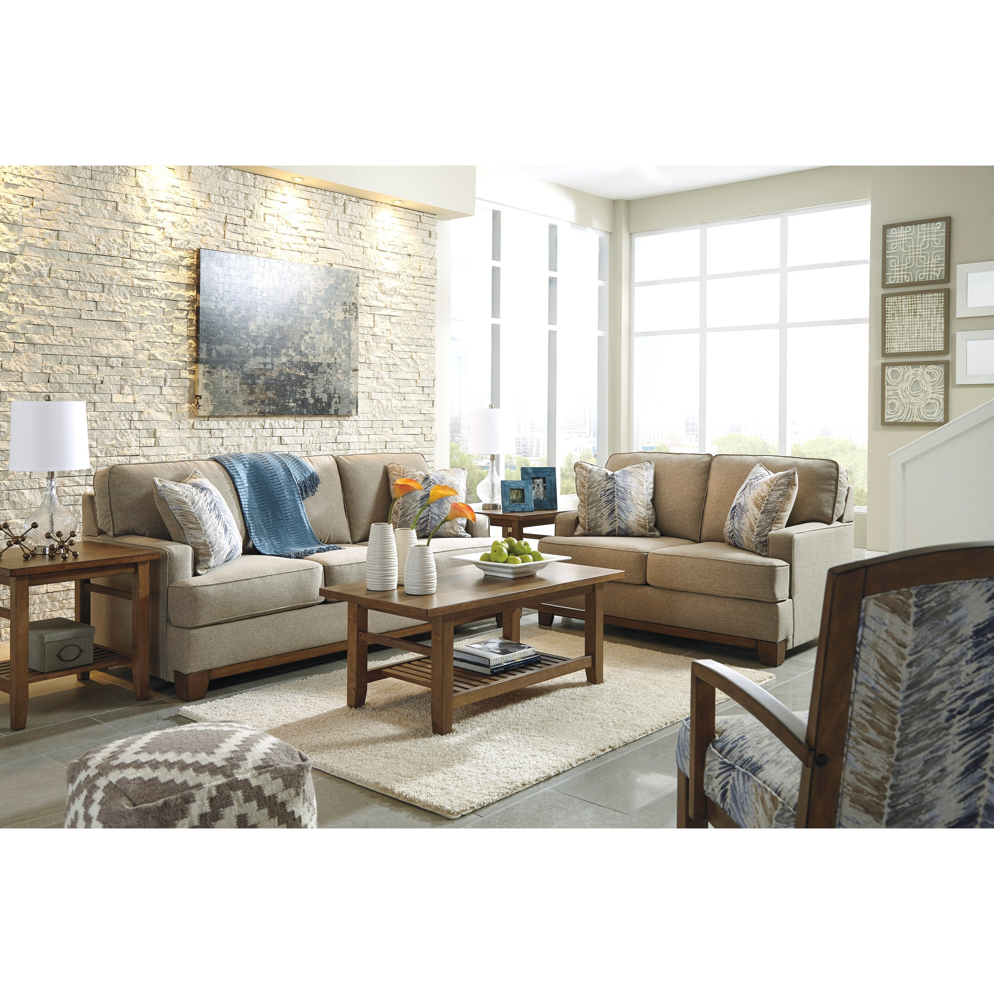Stationary Living Room Group by Benchcraft | Wolf and Gardiner Wolf ...