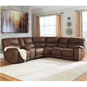Benchcraft Longview Reclining Sectional