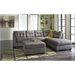 Ashley/Benchcraft Maier - Charcoal Stationary Living Room Group