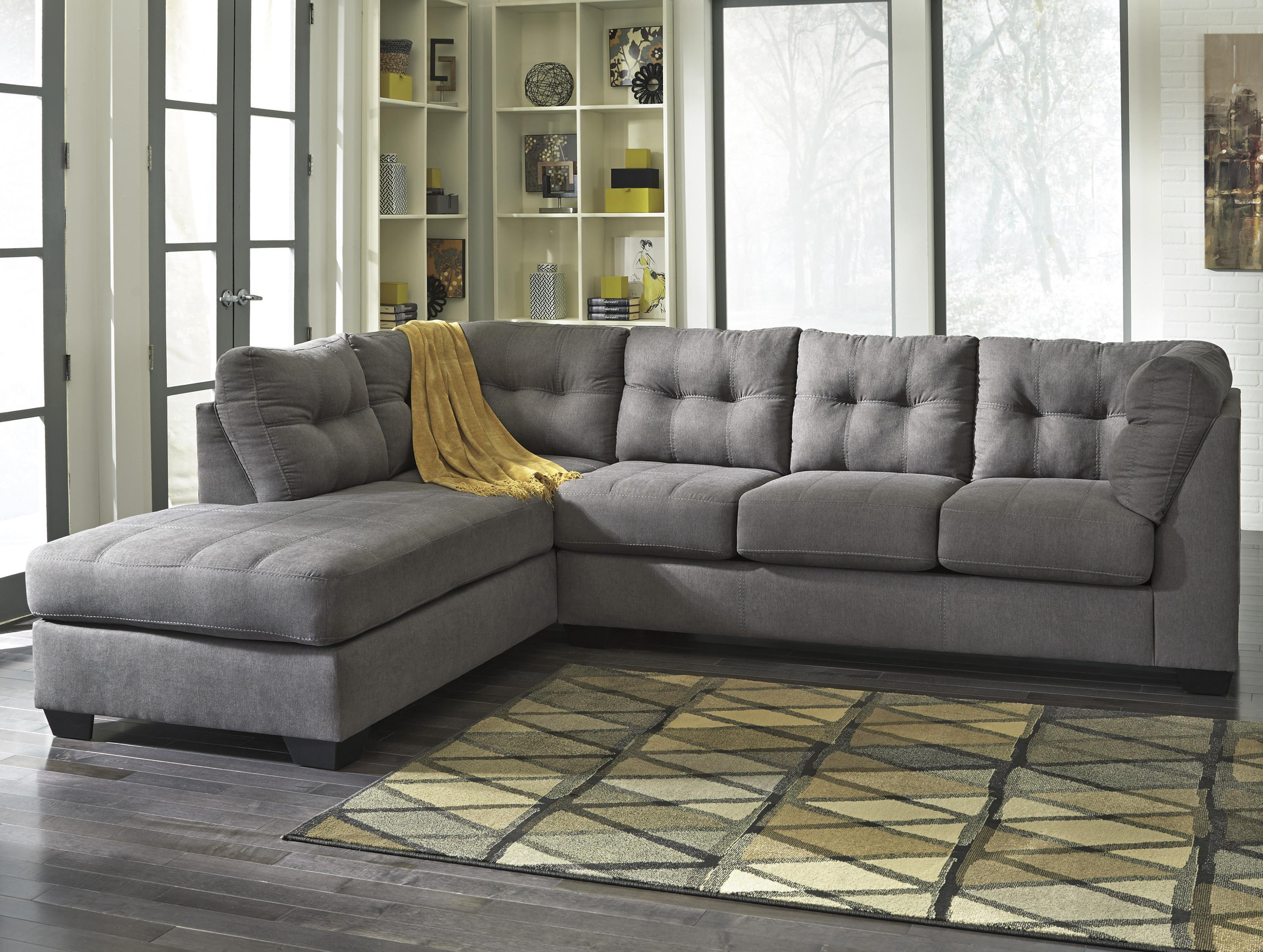 2-Piece Sectional w/ Sleeper Sofa & Left Chaise by Benchcraft | Wolf ...