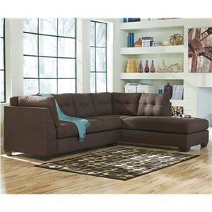 2-Piece Sectional w/ Sleeper Sofa & Right Chaise