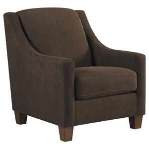 Ashley/Benchcraft Maier - Walnut Accent Chair