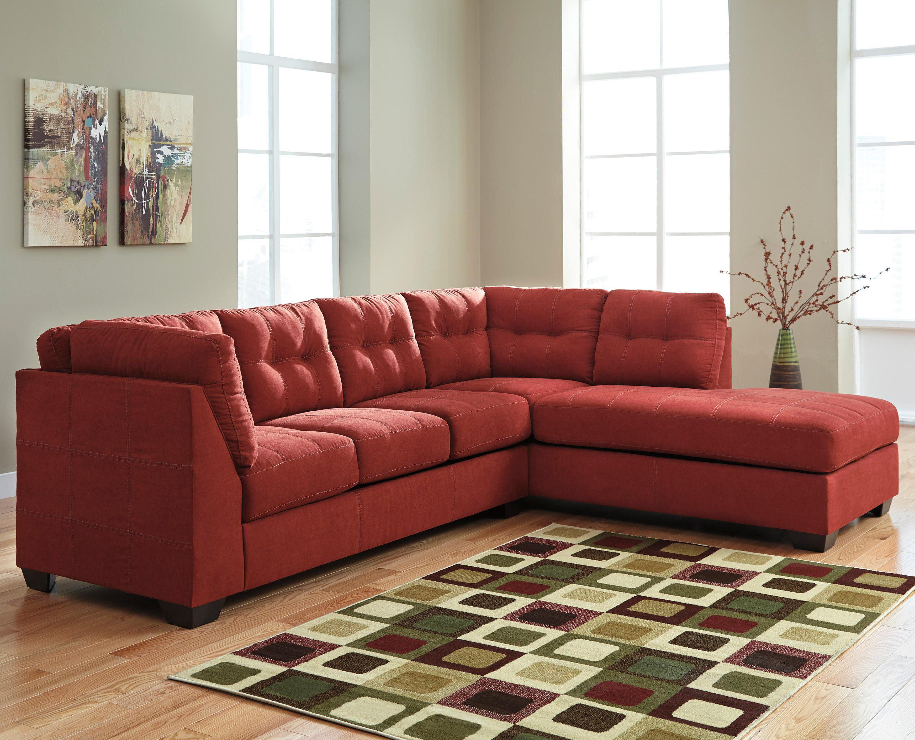 2-Piece Sectional w/ Sleeper Sofa & Right Chaise by Benchcraft ...