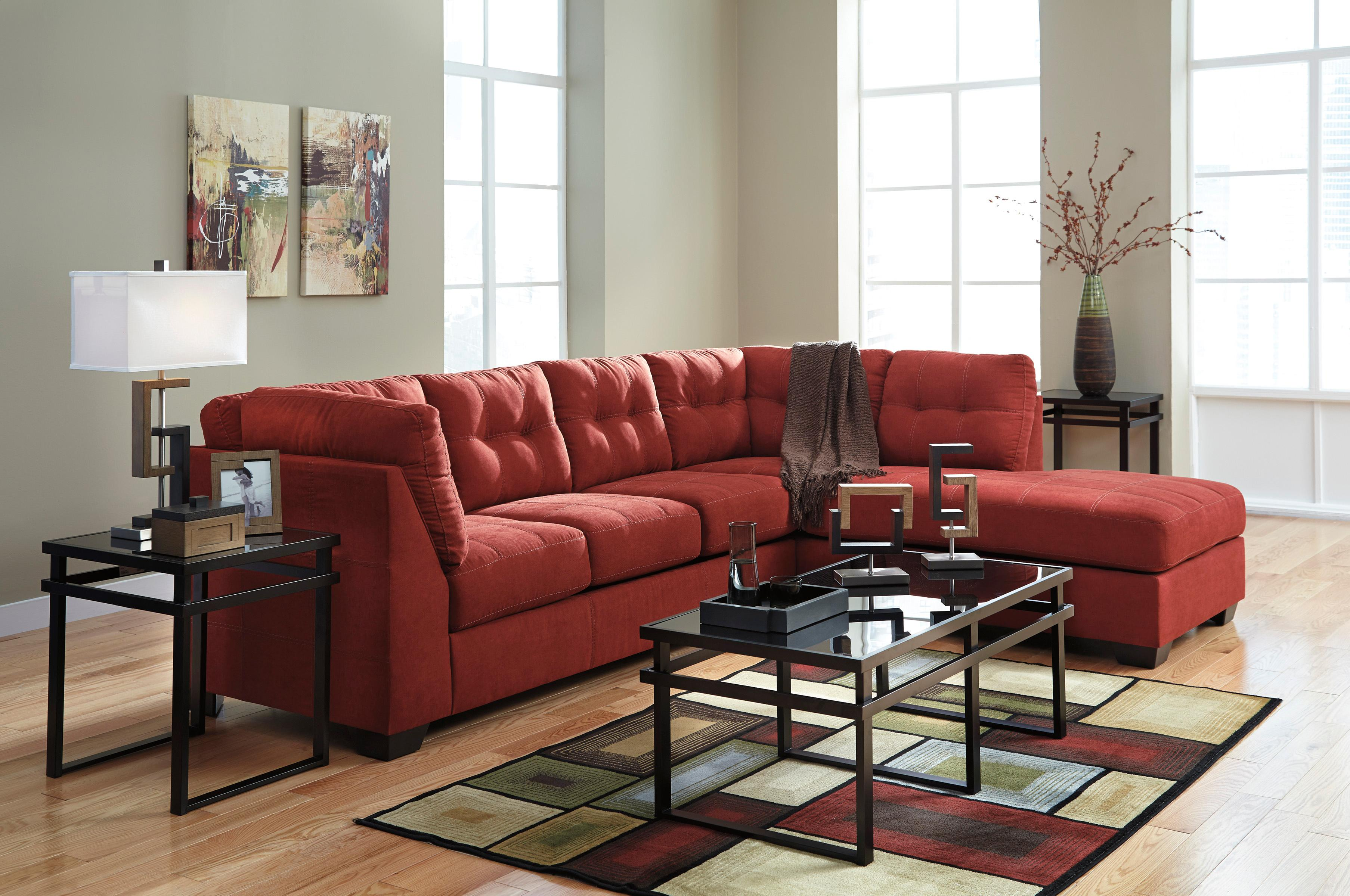 2 piece sectional w sleeper sofa right chaise by for 2 piece sectional with chaise