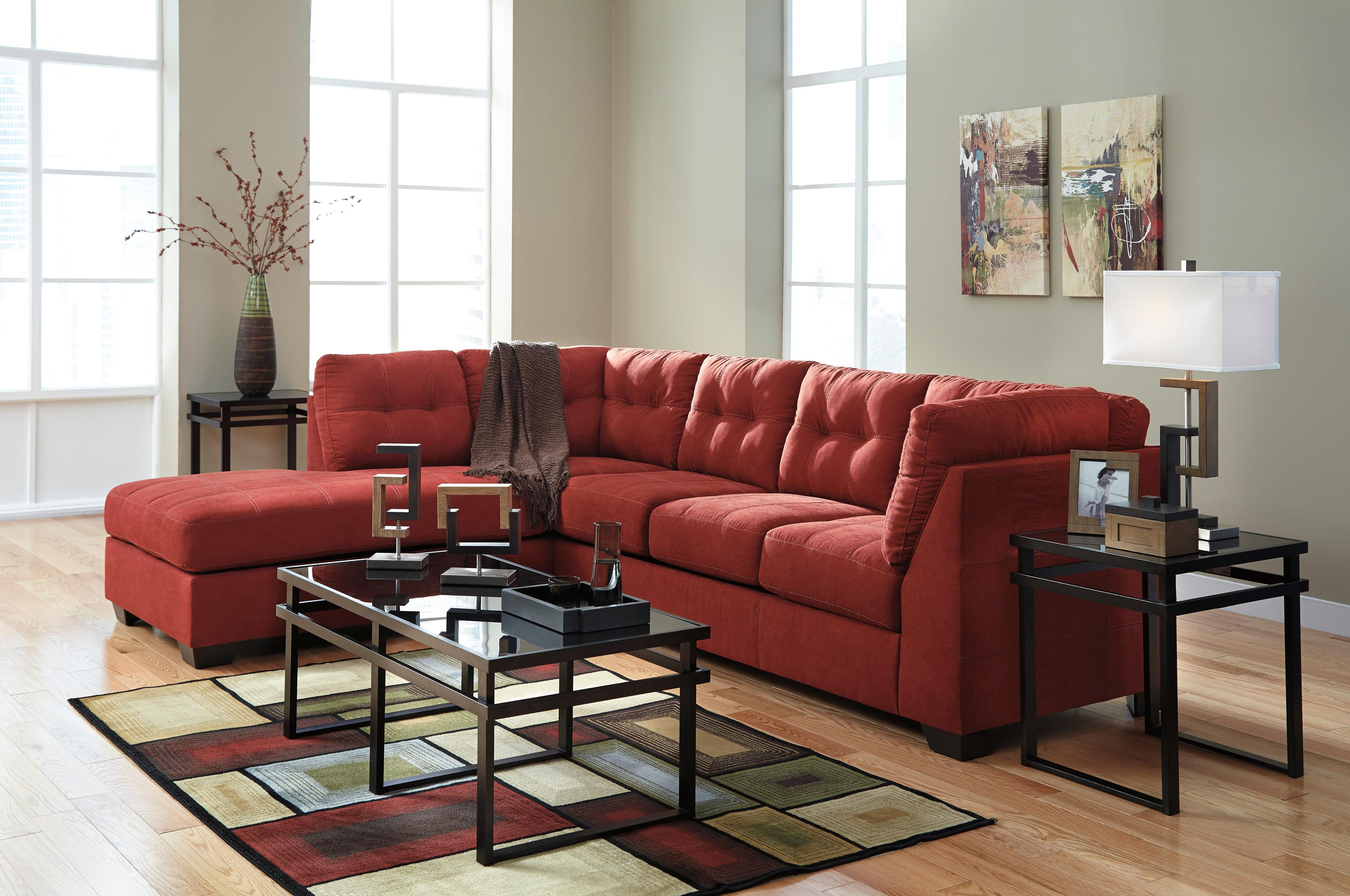 2 Piece Sectional w Sleeper Sofa & Left Chaise by Benchcraft