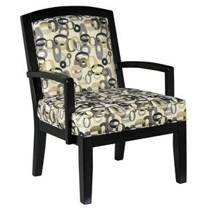 Ashley/Benchcraft Mallbern - Charcoal Accent Chair