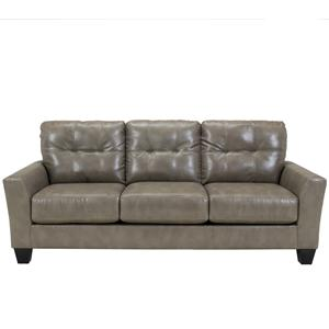 Benchcraft Paulie DuraBlend® - Quarry Sofa