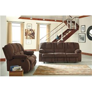 Benchcraft Roan Reclining Living Room Group