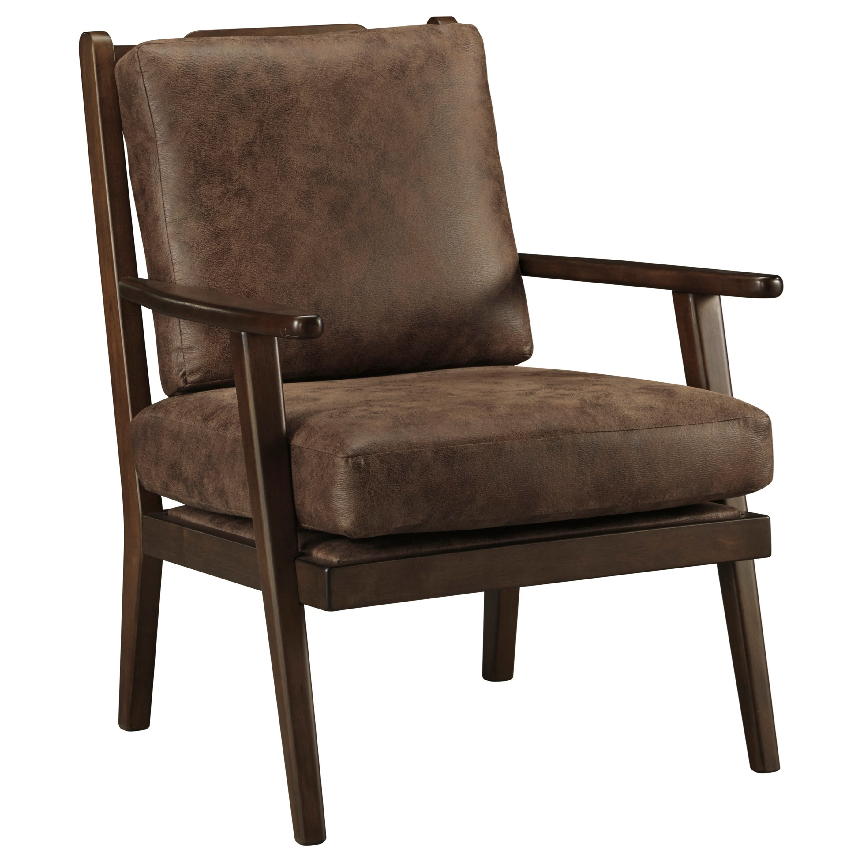 wood frame accent chairs. Accent Chair With Wood Frame And Slat Back Chairs W