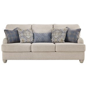 Queen Sofa Sleeper with English Arms