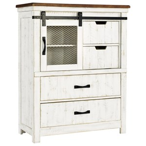 Rustic 4-Drawer Chest