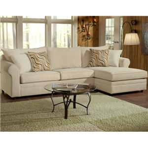 Belfort Essentials Monticello Sofa Sectional