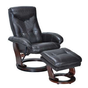 Benchmaster Glasgow Glasgow Reclining Chair and Ottoman