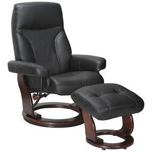 Benchmaster Milano Recliner and Ottoman