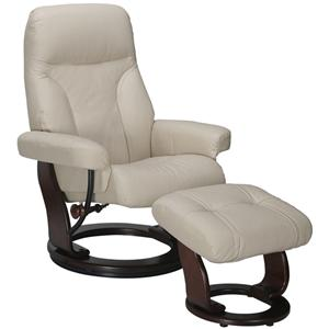 Vendor 714 Milano Recliner and Ottoman