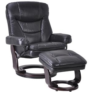 Benchmaster Palermo Recliner and Ottoman