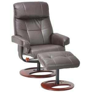 Benchmaster Venice Recliner and Ottoman