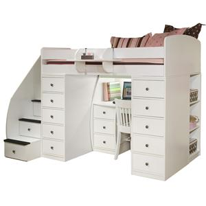 Berg Space Saver Twin Loft Bed