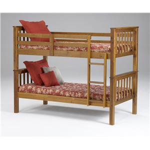 Morris Home Furnishings Brookland Brookland Twin Bunkbed