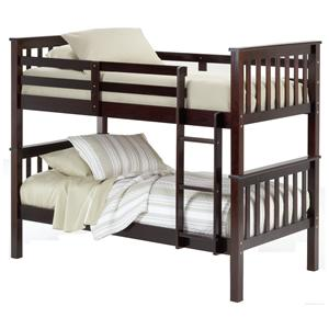 Bernards 3729 Twin Bunk Bed (requires bunkie boards)