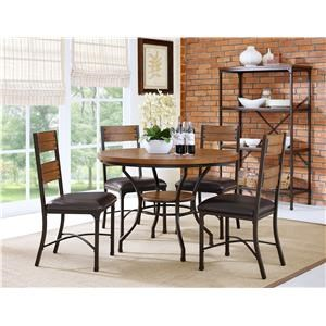 5pc Table and 4 Chairs