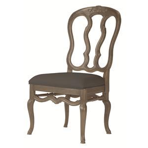 Bernhardt Belgian Oak Side Chair