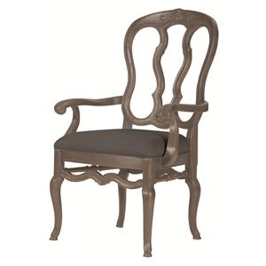 Bernhardt Belgian Oak Arm Chair