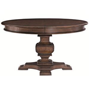 Bernhardt Eaton Square Round Dining Table