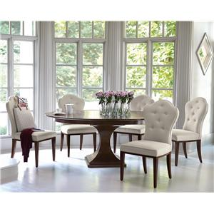 Bernhardt Haven 6 Piece Table and Chairs Set