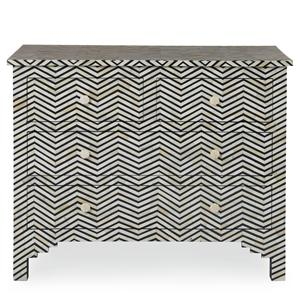 Bernhardt Interiors - Accents Herringbone Drawer Cabinet