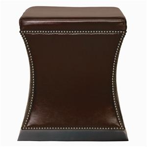 Bernhardt Interiors - Accents Leyden Leather Ottoman
