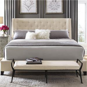 Bernhardt Interiors - Beds Maxime Queen Upholstered Bed
