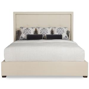 Bernhardt Interiors - Beds Queen Drake Upholstered Bed