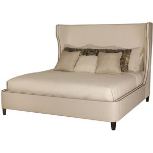 Bernhardt Interiors - Beds Wheeling King Upholstered Bed