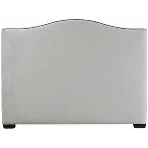 Bernhardt Interiors - Beds Queen Graham Camelback Headboard