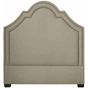 Bernhardt Interiors - Beds Twin Madison Crown Top Headboard