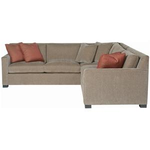 Bernhardt Interiors - Kelsey 2 Piece Sectional