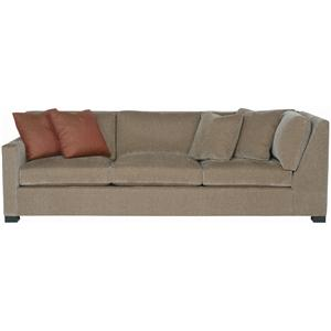 Bernhardt Interiors - Kelsey Left Arm Return Sofa