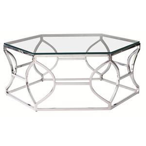 Bernhardt Interiors - Accents Argent Metal Cocktail Table